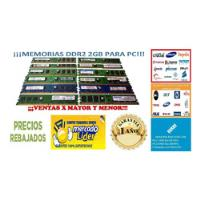 Memoria Ram Pc Ddr2 2gb Kingston Bus 667 800 Pc2 5300 6400 segunda mano  Lima