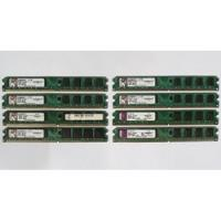 Memorias Ddr2 2 Gb 2 Gigas Bus 800 Como Nuevas Kingston segunda mano  Lima